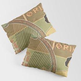 Art nouveau Royal Opera House Turin Torino Pillow Sham