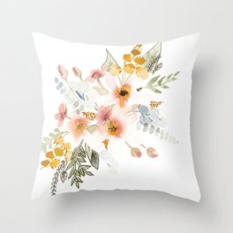 Your Mind Is Garden Throw Pillow