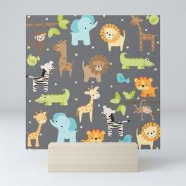 Jungle Animals Mini Art Print
