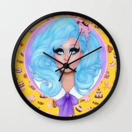 KIM CHI Wall Clock