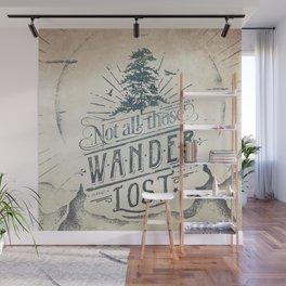 Im a wanderer Wall Mural