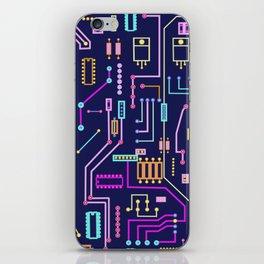 Circuits iPhone Skin
