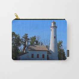 Sturgeon Lighthouse- horizontal Carry-All Pouch