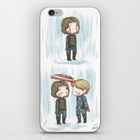 stucky iPhone & iPod Skins featuring Rain  by BlacksSideshow