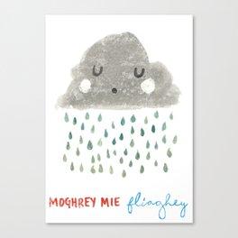 Moghrey Mie Fliaghey Canvas Print