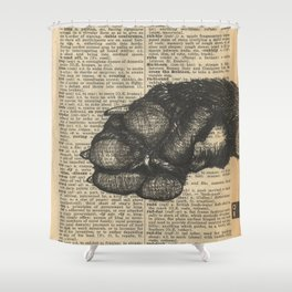 Critter Mitt Shower Curtain