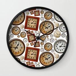 Old wall clocks background Wall Clock