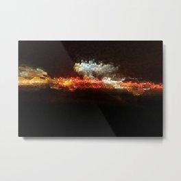 Highway Extrusion Metal Print