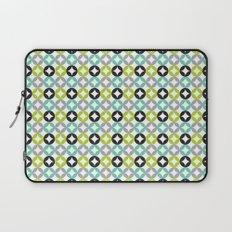 Lime Aqua Moroccan Laptop Sleeve