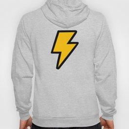 Cartoon Lightning Bolt pattern Hoody