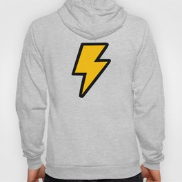 Cartoon Lightning Bolt pattern Hoody
