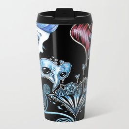 Sentimental Love Circus Metal Travel Mug