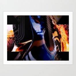 Acoustic Artistry Art Print