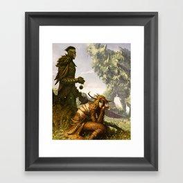 Scavenger Heroes series - 11 Framed Art Print