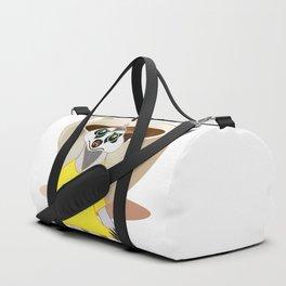 A Surikate loves coffee Duffle Bag