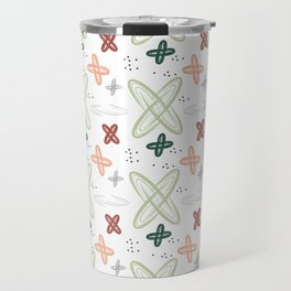 Seamless pattern with the image of cosmos. Travel Mug