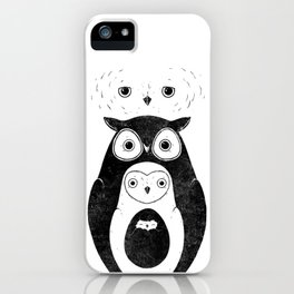 Owlnion - The Owls iPhone Case