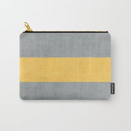 gray and yellow classic Carry-All Pouch