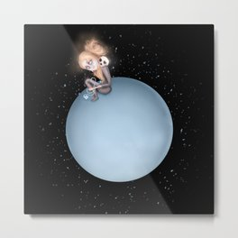 Lost in a Space / Uranusia Metal Print