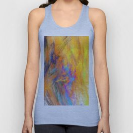 Colour Explosion (A7 B0002) Unisex Tank Top