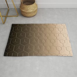 Earth Metal Rug