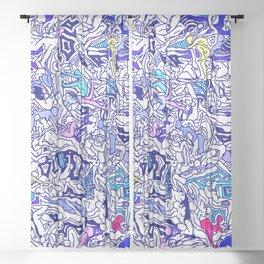 Kamasutra LOVE - Indigo Blue Sheer Curtain