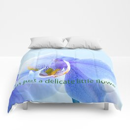 I'm just a delicate little flower TANK TOP Comforters