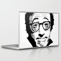 woody allen Laptop & iPad Skins featuring Woody Allen by Burro by BURRO
