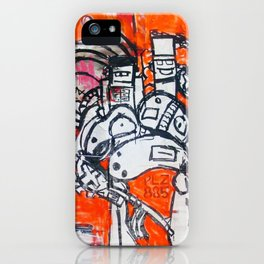 PLZ-885 iPhone Case