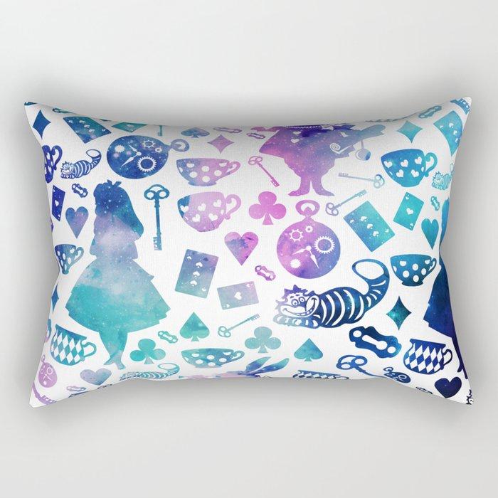 Alice in Wonderland - Galaxy W Rectangular Pillow
