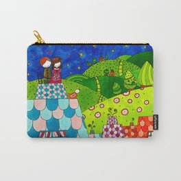 The Shepherdess and the Chimney Sweep Carry-All Pouch