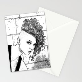 asc 651 - La jeune rebelle (The young mohawk) Stationery Cards
