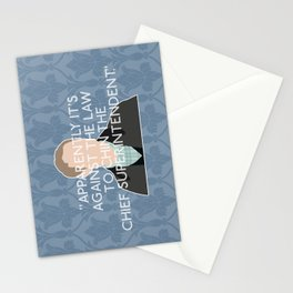 The Reichenbach Fall - John Watson Stationery Cards