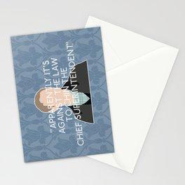 The Reichenbach Fall - John Watson Stationery Cards