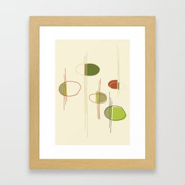 Pattern Print Framed Art Print