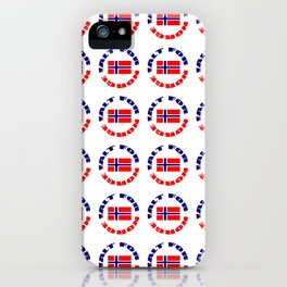 motto of norway 2 -alt for norge iPhone Case