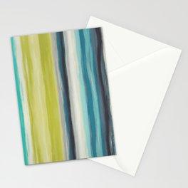 Striped seamless pattern Stationery Cards