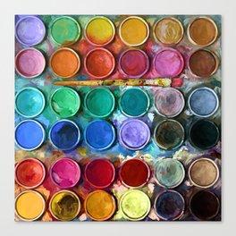 Pallet Abstract Art Canvas Print