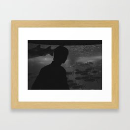 Underwater. Framed Art Print