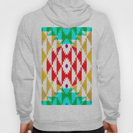 050 - traditional pattern interpretation with golden foil Hoody