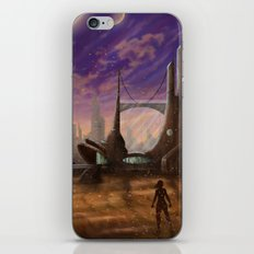 Lost Outpost iPhone & iPod Skin