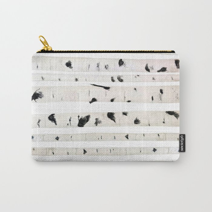 birch watercolor pattern 2018 Carry-All Pouch