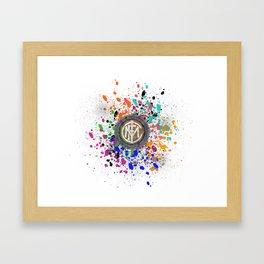 Watercolor Internazionale Milano Framed Art Print