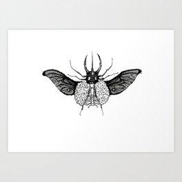 BeetleBrain Art Print
