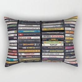 Old 80's & 90's Hip Hop Tapes Rectangular Pillow