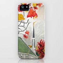 Frankfurt Germany LDS Temple iPhone Case