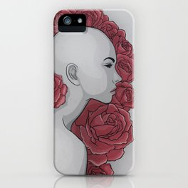 Red Flowers iPhone Case