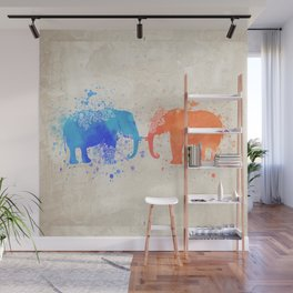 love elephants Wall Mural