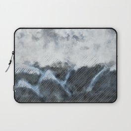 Stormy Mountains Laptop Sleeve