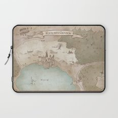 Map of Hogwarts Laptop Sleeve